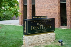 5 Points dentistry sign