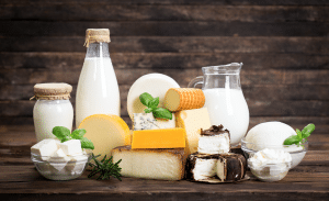 high fat dairy